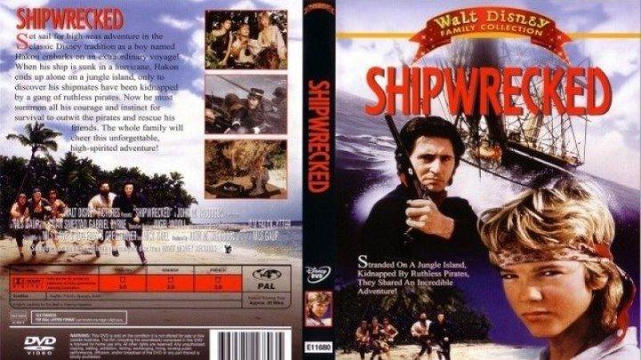 Потерпевшие кораблекрушение (Нильс Гауп) [1990, Норвегия, Швеция, Приключения, семейный]