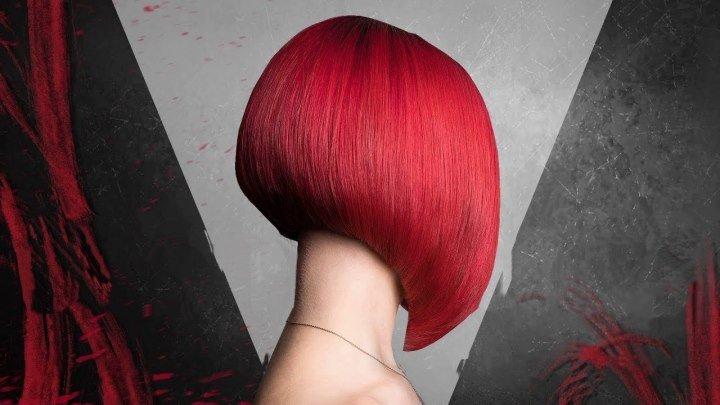 Боб каре. Женская стрижка на короткие волосы.