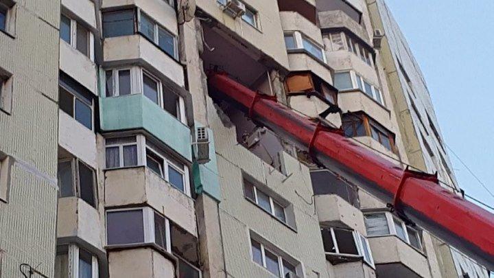 Кишинёв. Взрыв в жилом доме (07.10.2018)