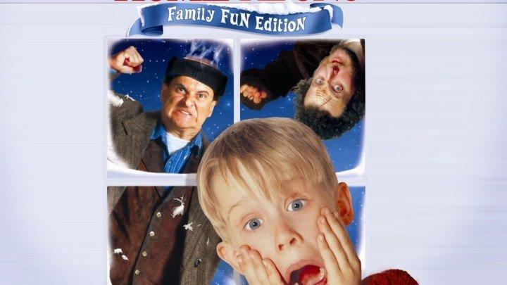 комедия, приключения, семейный, рождество-Один дома (1990)1080p [HEVC] 10 bit