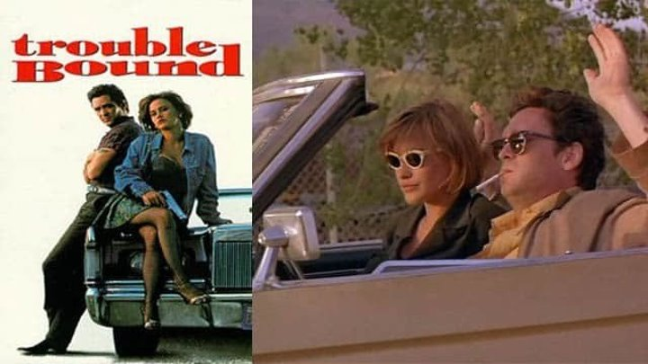 Фильм «Впереди одни неприятности» (комедия), Патриция Аркет и Майкл Медсен.