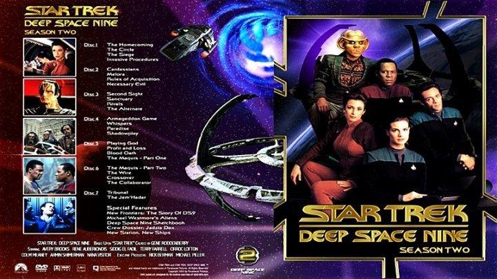 Звёздный путь. Глубокий космос 9 [24 «Процедура вторжения»] (1993) - фантастика, боевик, приключения
