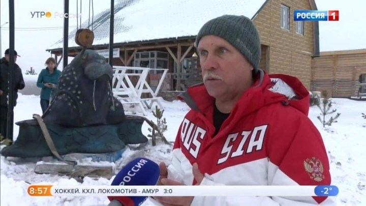 Тюменец Андрей Агарков принял участие в международном заплыве Ice Swimming в Антарктике.