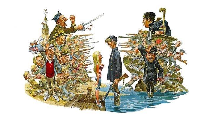 """""""Русские Идут! Русские Идут!"""" (США,1966)"""