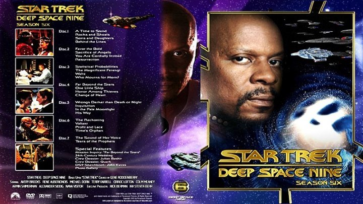 Звёздный путь. Глубокий космос 9 [130 «Вы сердечно приглашены…»] (1997) - фантастика, боевик, приключения