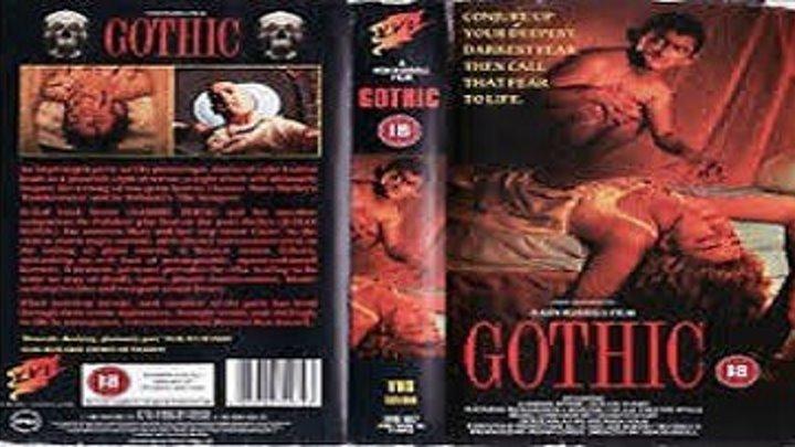 ASA 🎥📽🎬 Gothic (1986) a film directed by Ken Russell with Gabriel Byrne, Julian Sands, Natasha Richardson, Myriam Cyr