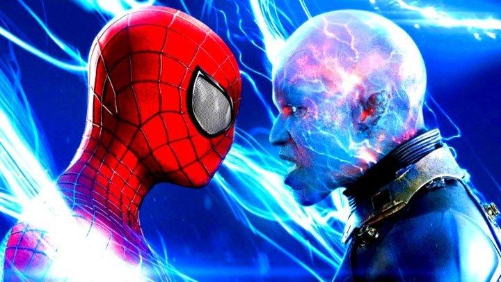Новый Человек-паук: Высокое напряжение HD(фантастика, боевик, приключения)2014