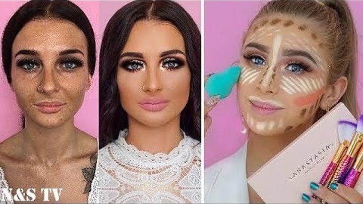 Как Девушки Обманывают Парней! Чудеса макияжа!