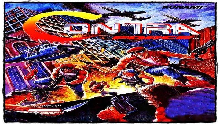 Полное прохождение [NES] Contra Force.