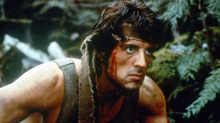 Рэмбо: Первая кровь. боевик, драма, приключения