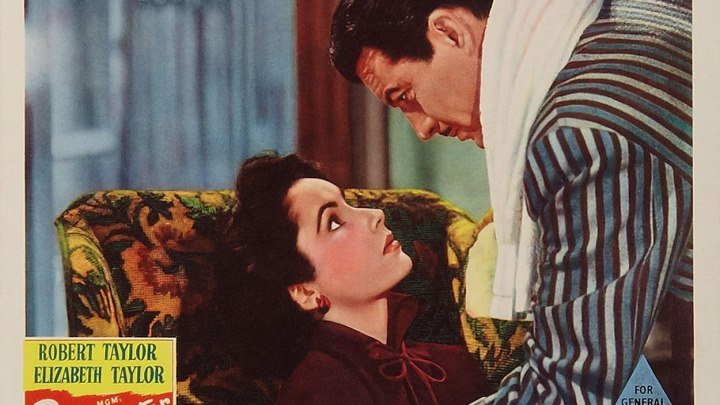 Conspirator 1949 with Elizabeth Taylor, Robert Taylor and Robert Flemyng