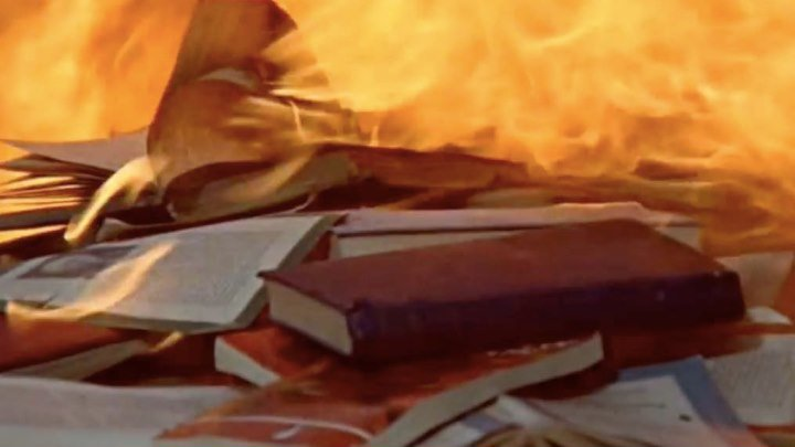 """451 градус по Фаренгейту""_1966, Франция, Великобритания, реж.Франсуа Трюффо"