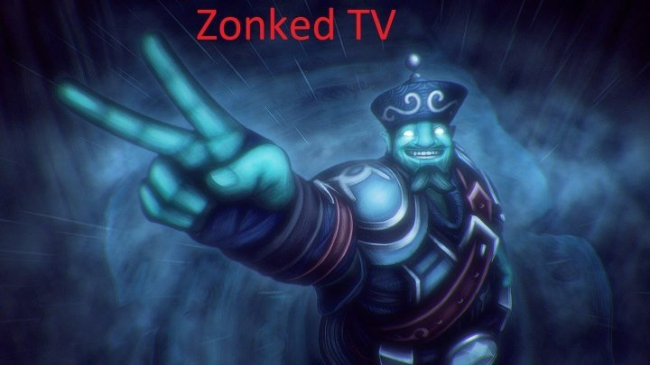 Warcraft III: The Frozen Throne. Stream DotA AllStars by Zonked