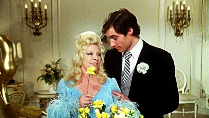 Sextette 1978 with Mae West, Tony Curtis and Timothy Dalton