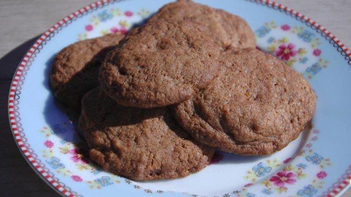 Апельсиновое печенье шоколадом от Юлии Высоцкой