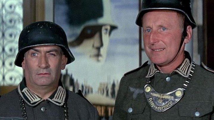 Большая прогулка - (1966) Комедия, приключения, военный.
