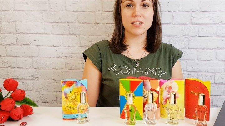 Кто любит ароматы ДЗИНТАРС? Для вас обзор шедевров. Посмотрите. А какими вы сейчас пользуетесь духами и какие ваши любимые ароматы? Напишите в комментариях, очень интересно