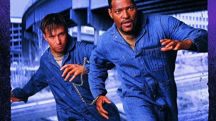 Беглецы (боевик с Лоренсом Фишберном, Стивеном Болдуином, Сальмой Хайек) | США, 1996