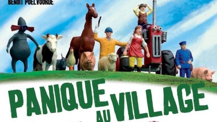 мультфильм Паника в деревне (2009) 1080p HD