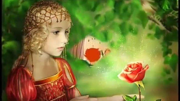 """Самый волшебный цветок-Клара Румянова,х/ф """"Ненастье"""",м/ф """"Шелковая кисточка"""