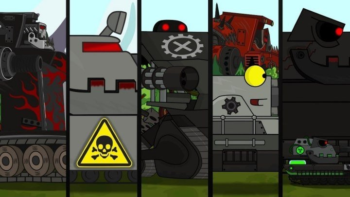 #Good: 📺 🖌 Все серии подряд - Сборник Мультики про танки #мультфильм #видео