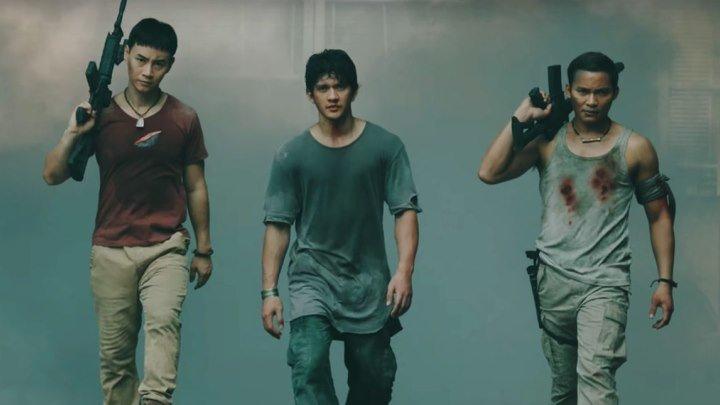 Тройная угроза HD(боевик, триллер)2019