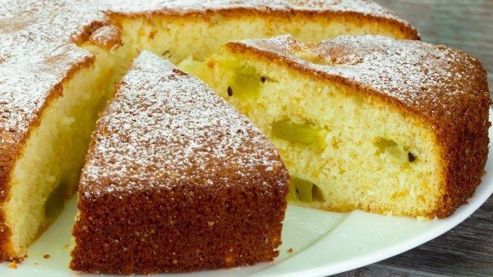 Вы влюбитесь навсегда в этот вкусный и простой в приготовлении бисквит с фр