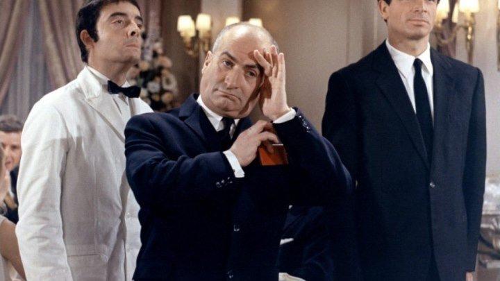 Луи де Фюнес в комедии Ресторан господина Септима