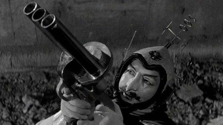 Космический Принц / Принц Космоса (Япония 1959) Боевик, Фантастика