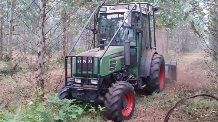Трактор Fendt 208 V Рыхления земли фрезой