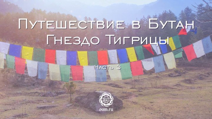 Путешествие в Бутан. Гнездо Тигрицы. Часть 3