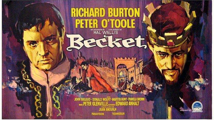 БЕКЕТ (Великобритания, США 1964) 16+ Исторический, Биография, Драма