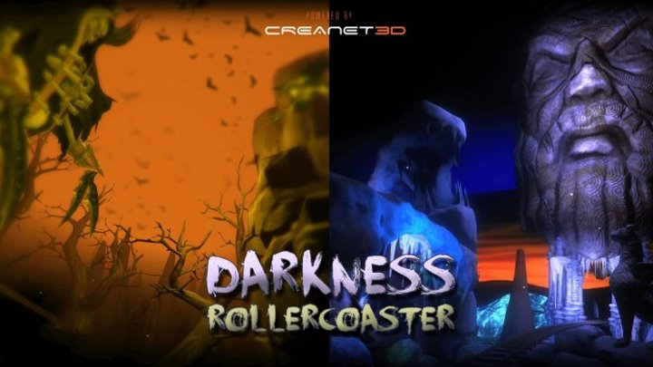 PSVR Darkness RollerCoaster | VR GAMECLUB Хабаровск