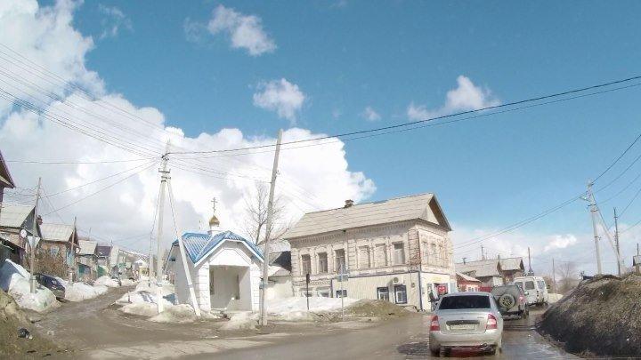 От рынка в г. Вольск до г. Балаково через Большевик, ХайдельбергЦемент (АЦИ) и Терсу, 29 марта 2019 г.