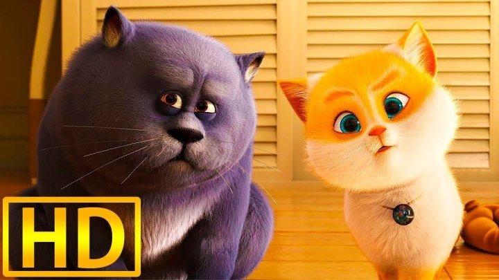 Большой кошачий побег HD(комедия, приключения)2018