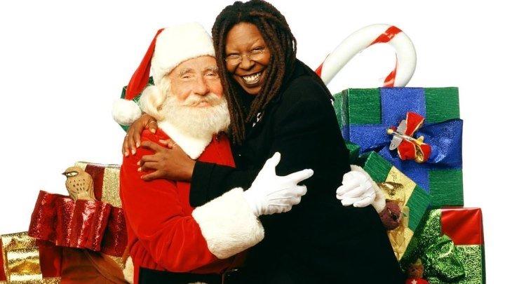 Зови меня Санта-Клаус (2001) (DVDRip-720p) MVO Комедия, семейный Вупи Голдберг, Найджел Хоторн, Брайан Митчел, Виктор Гарбер, Тейлор Негрон, Фрэнки Фэйзон