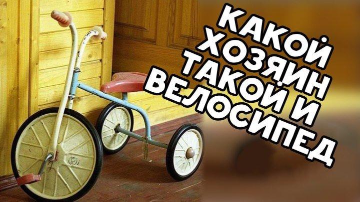 Какой хозяин, такой и велосипед
