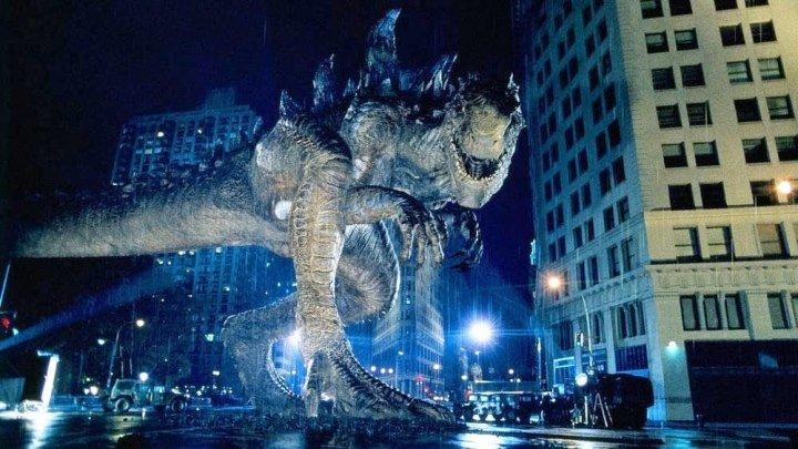Годзилла HD(фантастика, боевик, триллер)1998