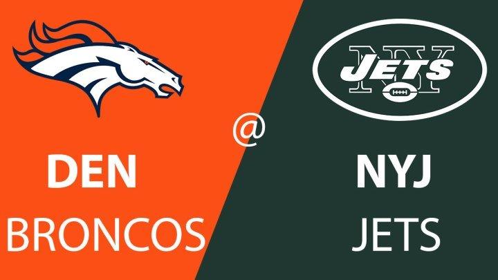 Denver Broncos vs. New York Jets week 5 Full Game - NFL 2018