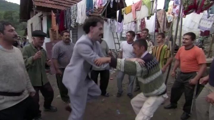 Borat's Disco Dance.Улыбнитесь!
