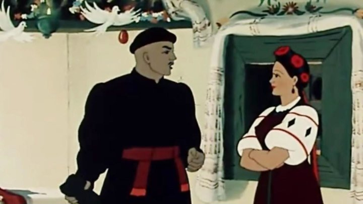 НОЧЬ ПЕРЕД РОДЖЕСТВОМ 1951 DVD HDRip ФЭНТЕЗИ ИСТОРИЧСЕКИЕ КОМЕДИЯ МУЛЬТИК
