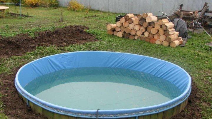 Отличный бассейн своими руками 👍😎