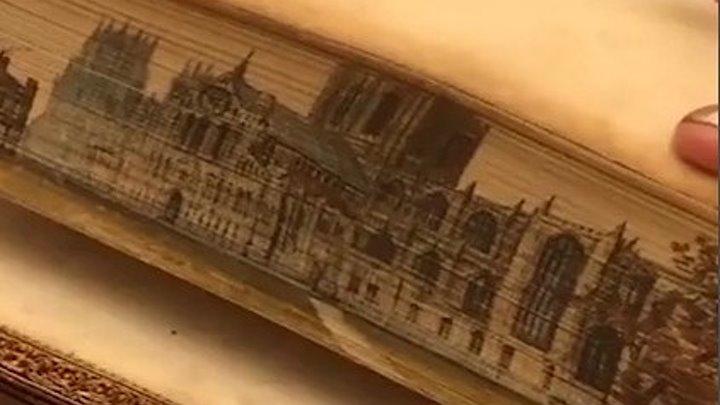 Старинные книги с секретом. Невероятное мастерство