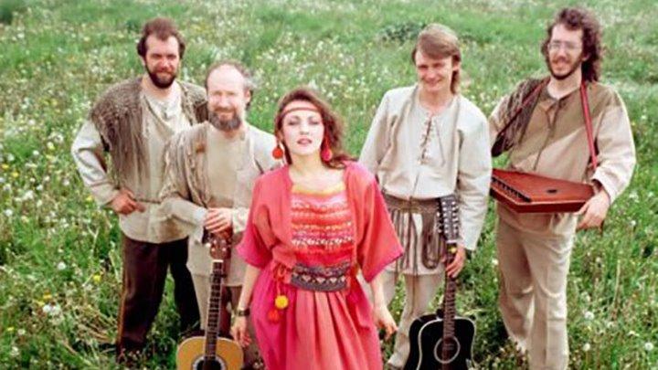 Марина Капуро и группа ''Яблоко'' - Летела гагара (1990)