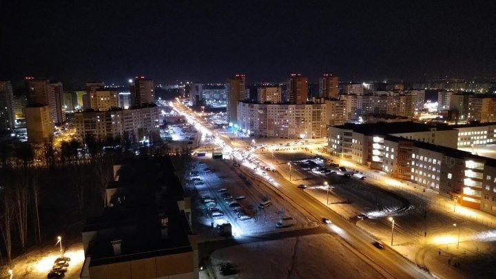 Город спит - город просыпается