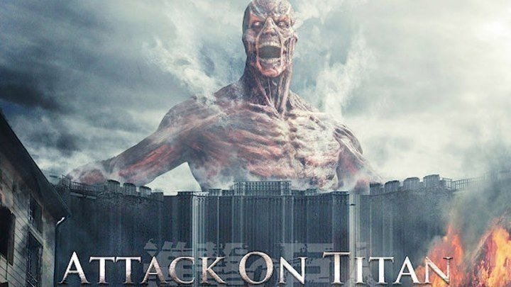 Атака Титанов. Фильм первый Жестокий мир. фэнтези, боевик, приключения
