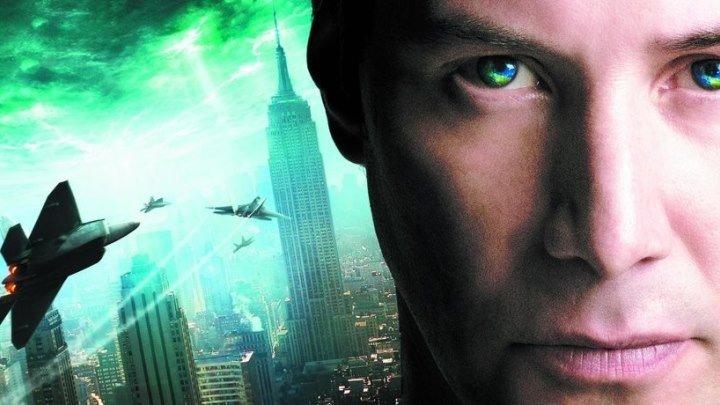 День,когда Земля остановилась (2008) HD фантастика триллер катастрофа
