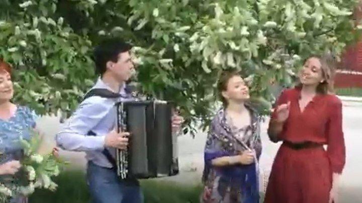 А черёмуха цвела! Народный ансамбль Калина прекрасно исполняет песню!