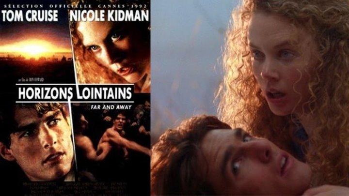 Фильм «Далёкая страна» (Далеко далеко), Том Круз и Николь Кидман.