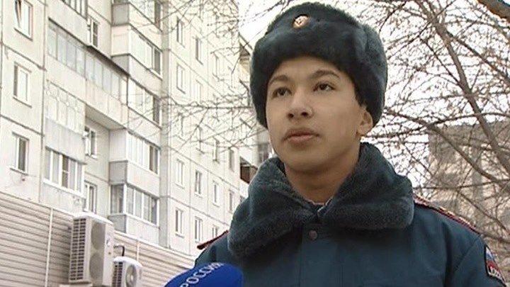 В Красноярске школьник спас пожилую женщину